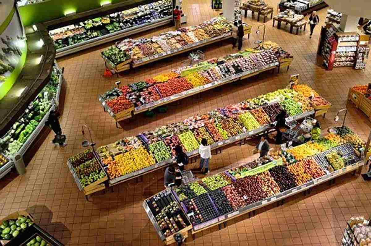 Stor matbutikk